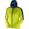 Salomon Fast Wing Jacket Men lime punch/vintage indigo